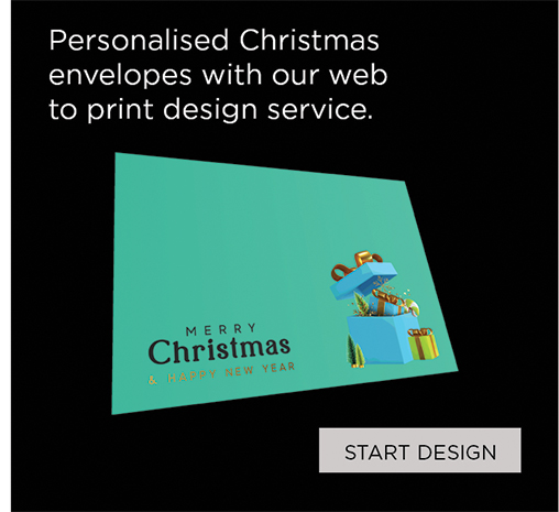 Personalise your own Christmas Envelopes