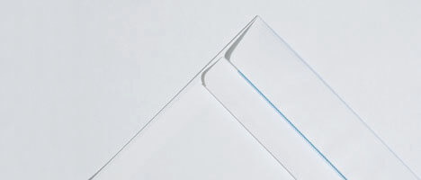 Commercial white envelopes