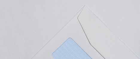Reverse window envelopes
