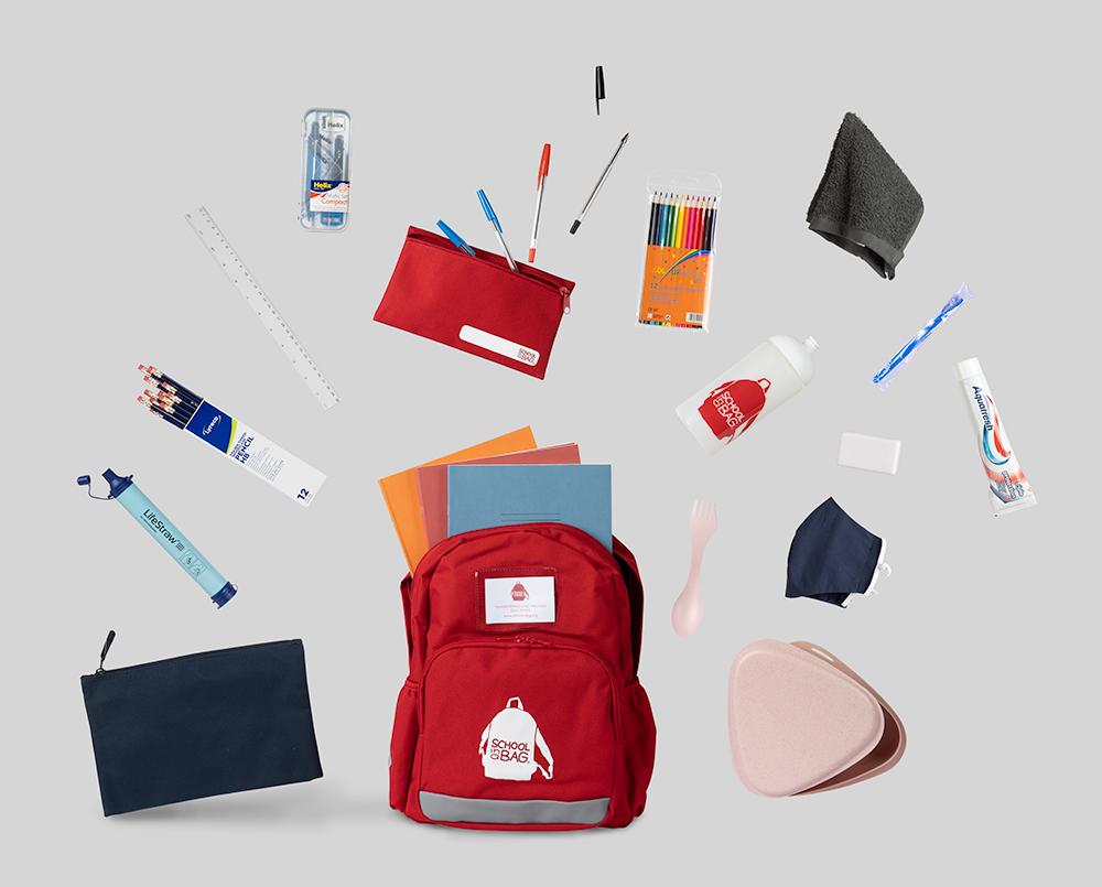 School Bag Content Image