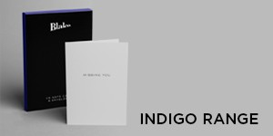 Indigo Note Cards