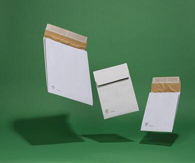 Ecocushion White Padded Gusset Envelopes