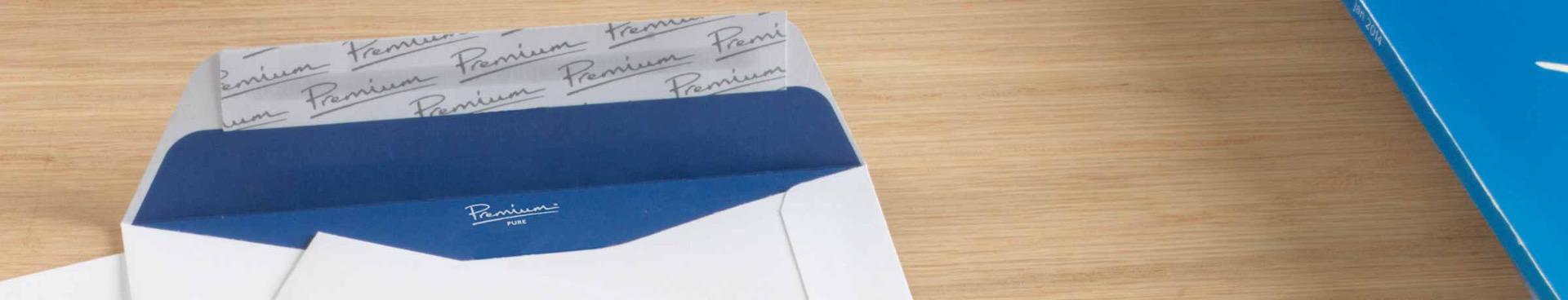 Premium Peel & Seal envelope