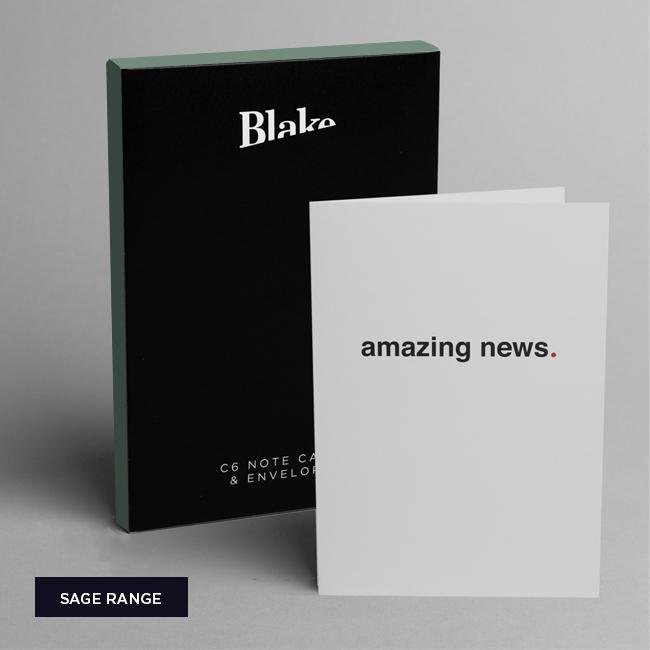 Sage Note Card Range